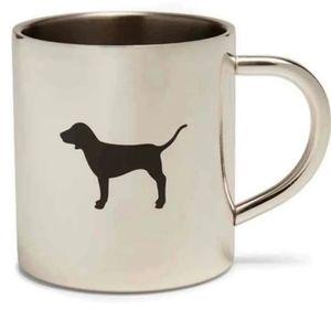 Pink Victoria secret mug stainless steel (Silver)